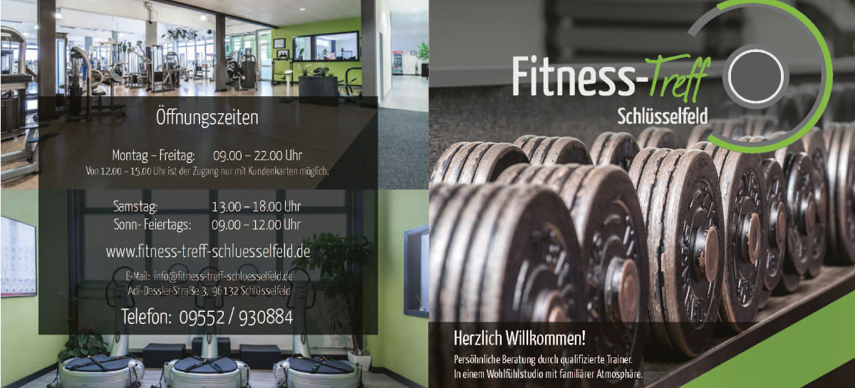Fitness treff Image broschüre